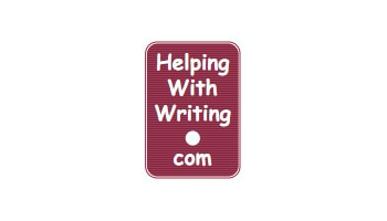 Logo, helpingwithwriting.com