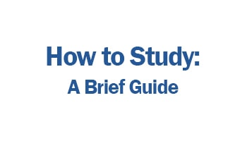 Logo, How to Study: A Brief Guide