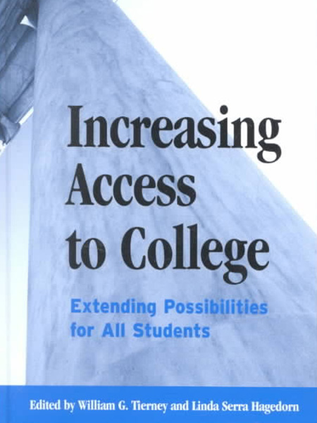 Book Cover, Increasing Access to College