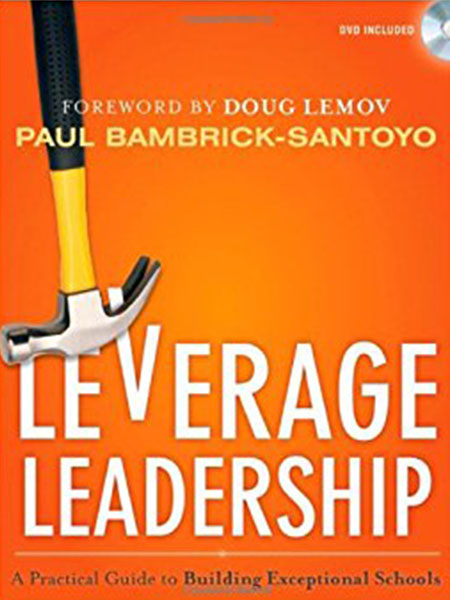 Book Cover, Leverage Leadership