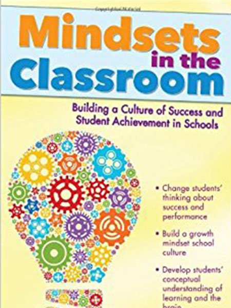 Book Cover, Mindsets in the Classroom