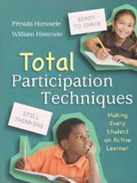 Book Cover, Total Participation Techniques
