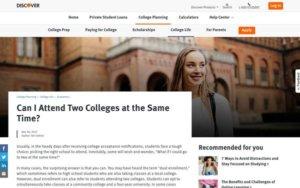 Tweet - Benefits of Dual Enrollment