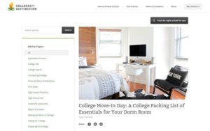 Tweet - College Move-In Day: A College Packing List of Essentials for Your Dorm Room