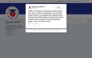 Tweet - Academic Advisement at TMCC