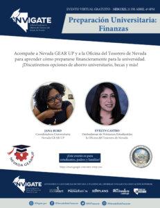 Preparación Universitaria Finanzas Anuncio